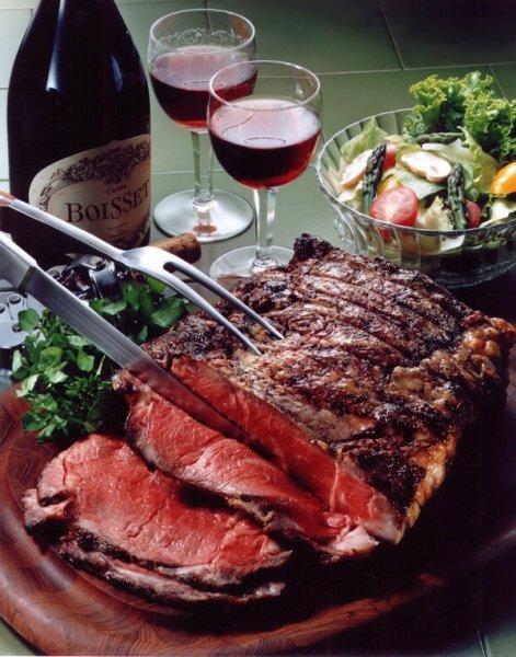 Вино к мясу белое или красное