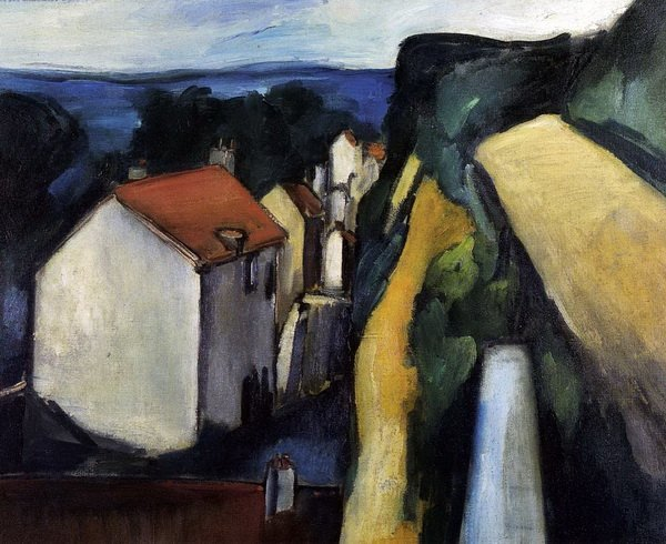 """post impressionism and rouault french fauvism """"when i put a green, it is not grass when i put a blue, it is not the sky"""" movements: post-impressionism, fauvism training: academie julian student of bouguereau & moreau ( lawyer, first started to paint in 1889, went to academie 1891."""